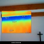Hőfénykép, hőkép, hőkamerás épület és gépdiagnosztika, hőkamera
